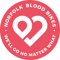 Norfolk Blood Bikes logo